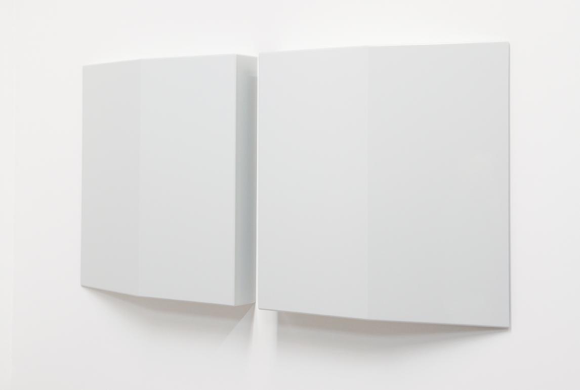 SUZIE IDIENS  Untitled #3  2016 MDF, polyurethane 82 × 81.4 × 12 cm each