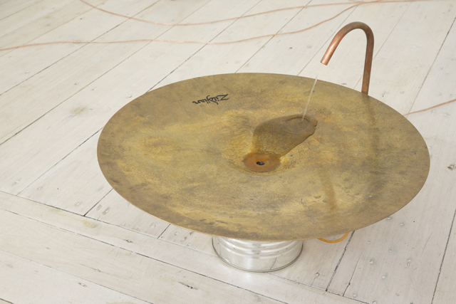 MICHAEL G.F. PRIOR  Cymbal with Liquid Resinator  2015 Edition 1/3