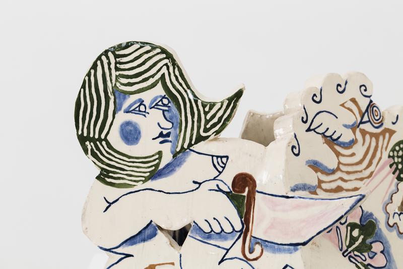 ETYAN MESSIAH  Reverse Tamer  2016  lazed ceramic, 20 × 26 × 20 cm
