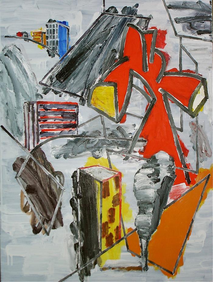 STUART WATTERS  Strange Country III  2015 oil on canvas 122 × 91 cm