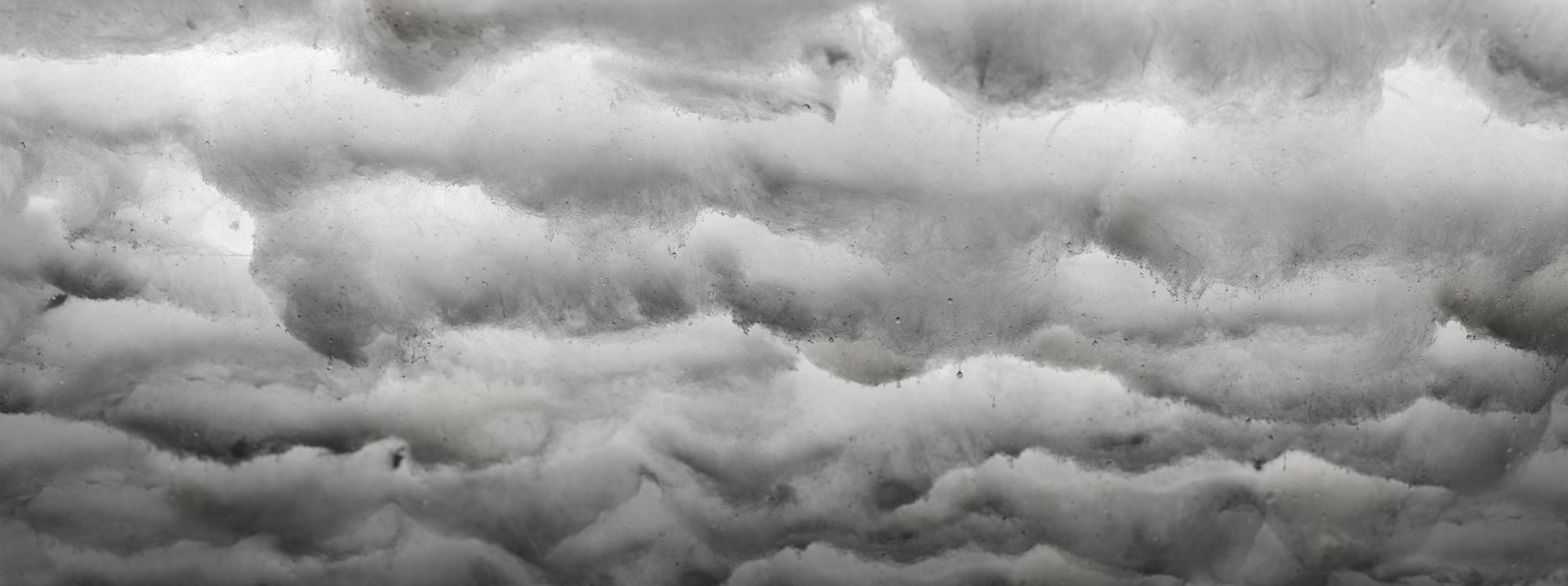 DAVID LAWREY & JAKI MIDDLETON  Downfall #1  2016 c-type metallic print 126 × 48 cm (framed)