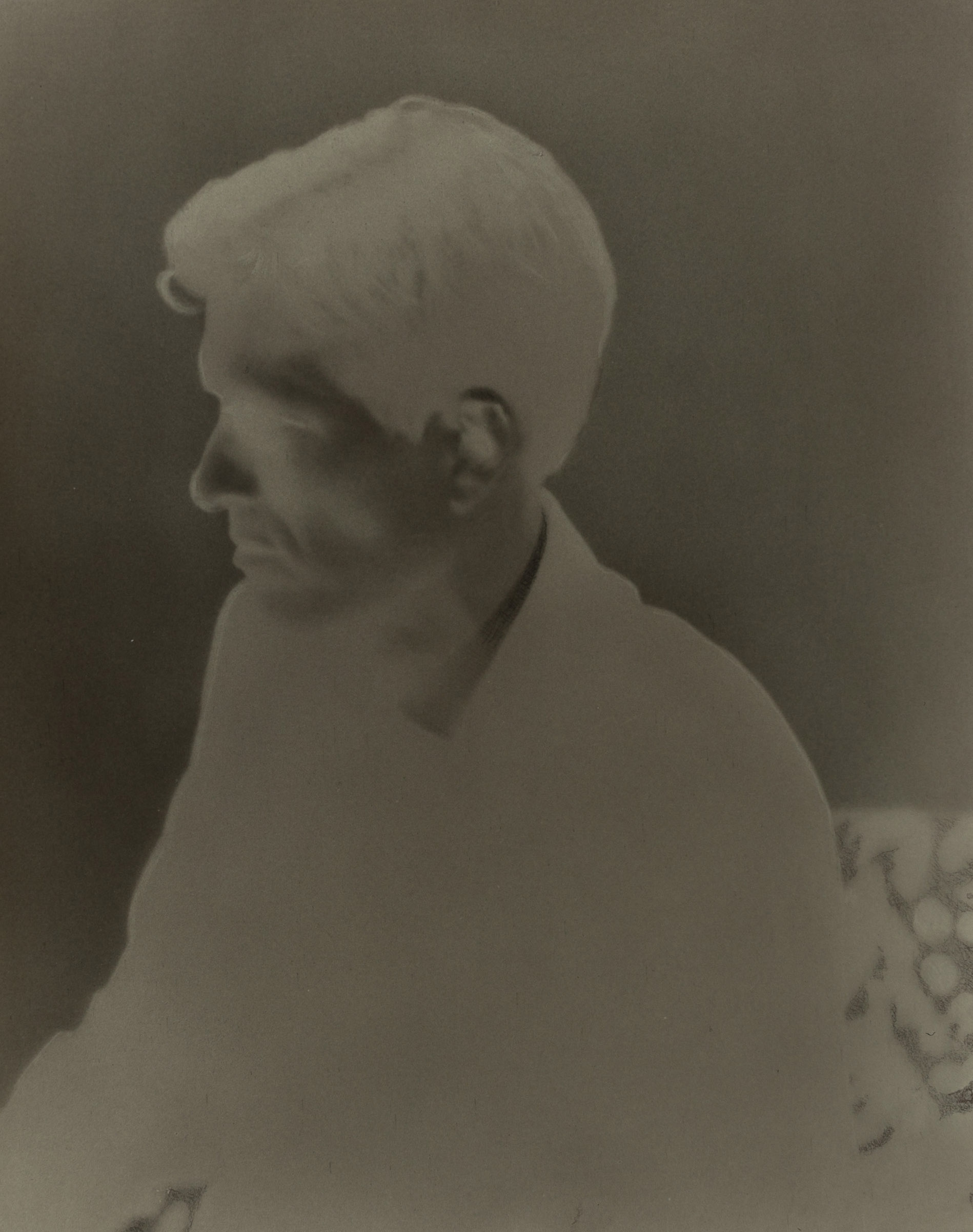 SIMON KENNEDY  Mr Squires  2017    silver gelatin print 20.3 × 25.5 cm 70 × 57 cm (framed)