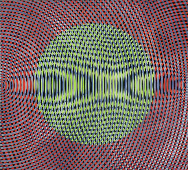 JOHN ASLANIDIS  Sonic no.19  2010 oil and acrylic on canvas 97 ×107 cm