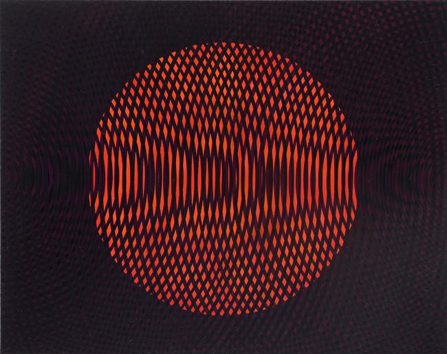JOHN ASLANIDIS  Sonic no.17 2010 oil and acrylic on canvas 107 ×127 cm