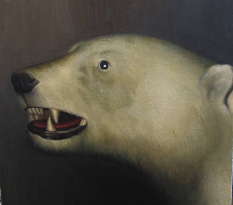 SIMON KENNEDY  Fred 2007 oil on canvas 50.5 ×55.5 cm