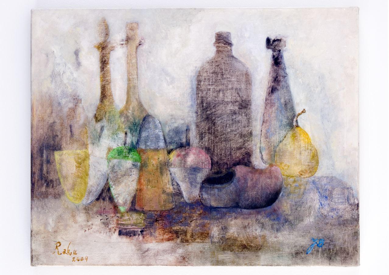 JELLE VAN DEN BERG  Raku 1  2008 oil on canvas 240 × 160 cm