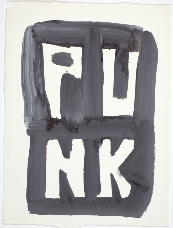 JELLE VAN DEN BERG  Punk  2009 47 ×38 cm