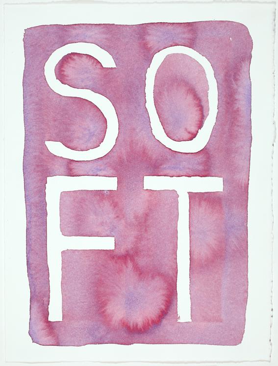 JELLE VAN DEN BERG  Soft  2009 47 ×38 cm