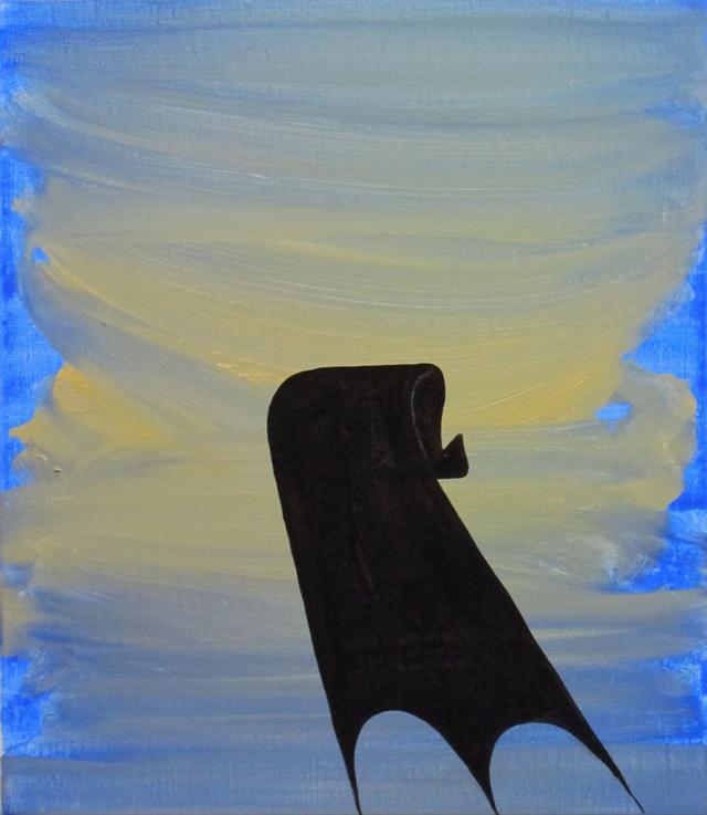 JULIAN HOOPER  Deta  2012  acrylic on linen 40 × 35 cm