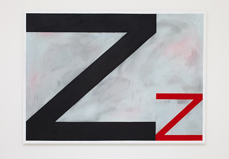 SIMON BLAU  Sleep  2009 acrylic on polyester 121.3 ×167.5 cm