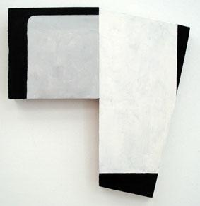 SIMON BLAU  4° Celsius 2007 acrylic on plywood 31 ×29 cm