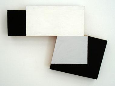 SIMON BLAU   27° Celsius 2007  acrylic on plywood 31 ×41.5 cm