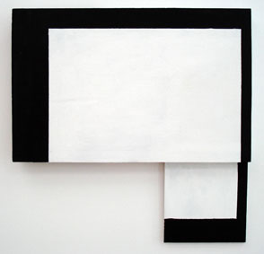 SIMON BLAU   Afterthought  2007  acrylic on plywood 42.5 x 43 cm