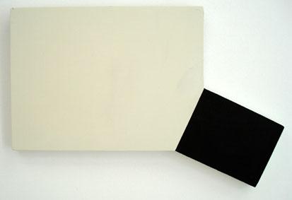 SIMON BLAU   Beauty Spot 2007  acrylic on plywood 29 ×43.5 cm