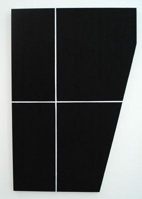 SIMON BLAU   Package 1 2007  acrylic on plywood 91 ×61 cm