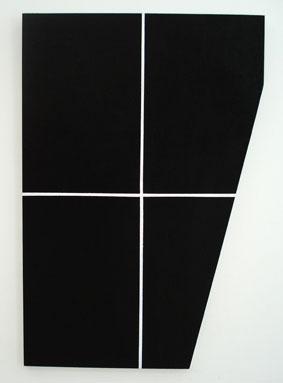 SIMON BLAU  Package 2 2007 acrylic on plywood 91 ×61 cm