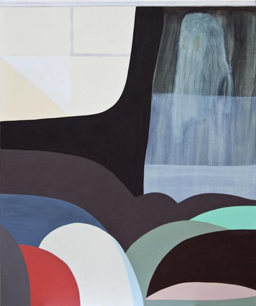 TONEE MESSIAH Let Sleeping Ghosts Lie 2010 acrylic on linen 122 ×102 cm