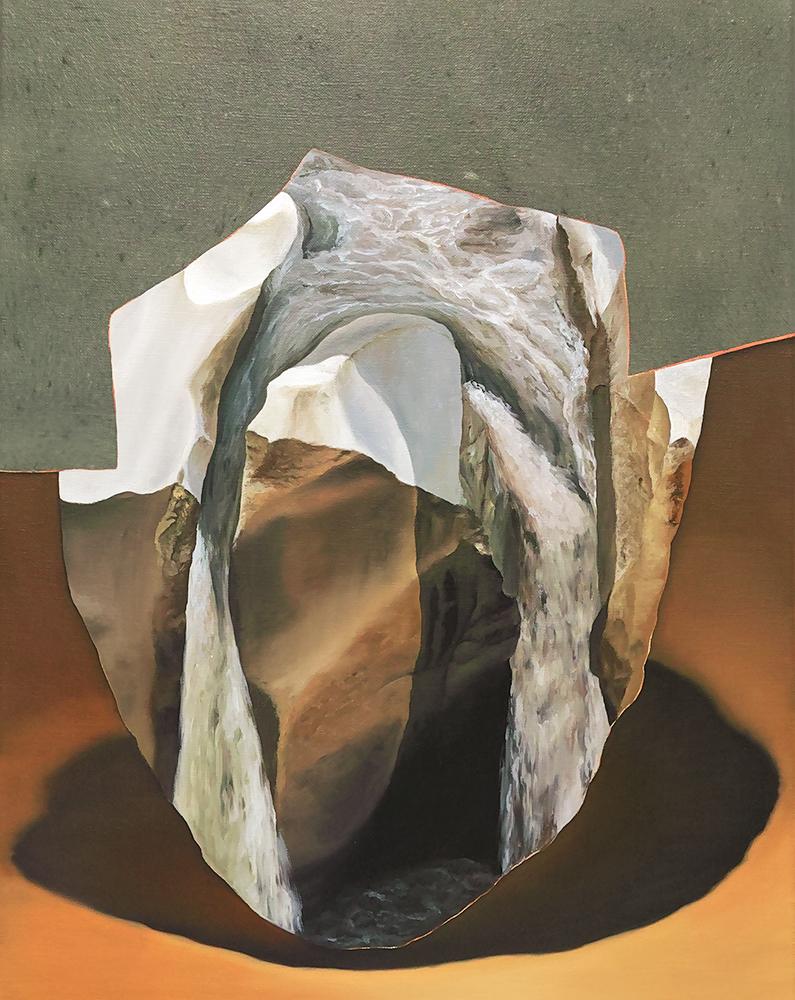 ALICE WORMALD  An Object 2017 oil on linen 53 × 43 cm (framed)