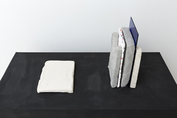 MARITA FRASER  Pattern Recognition  (no.10) 2014 plaster, papier mâché, acrylic  dimensions variable