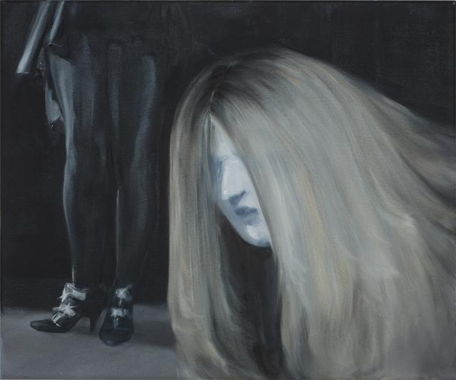 JELENA TELECKI  Elmegyek, hogy  2014 oil on canvas 46 ×51 cm