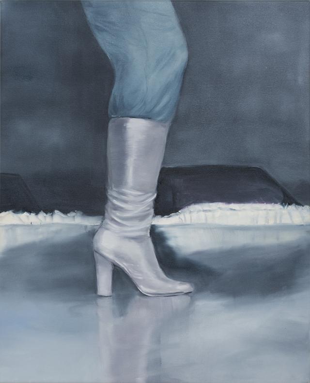 JELENA TELECKI  Stage job  2014 oil on canvas 82 ×66 cm