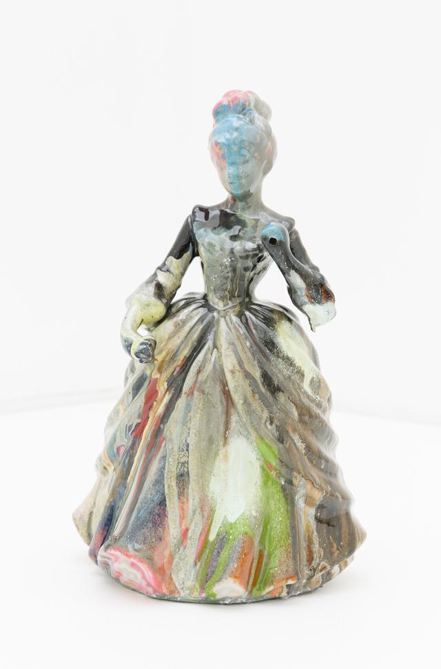 KYLE JENKINS  Untitled (Fix Me) #18  2014  enamel on porcelain 21 ×13 ×10 cm