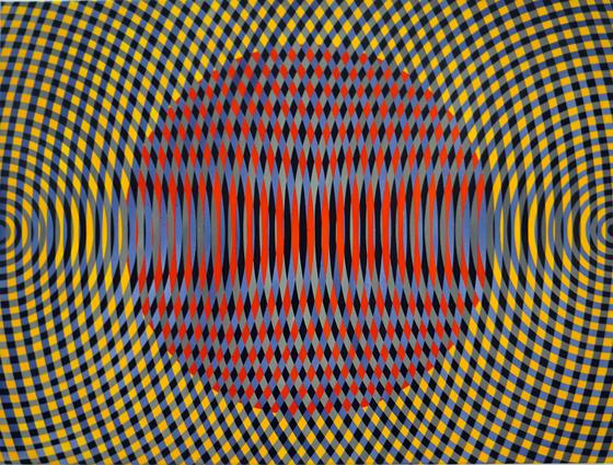 JJOHN ASLANIDIS  Sonic no. 32  2012 oil and acrylic on canvas 77 ×102 cm