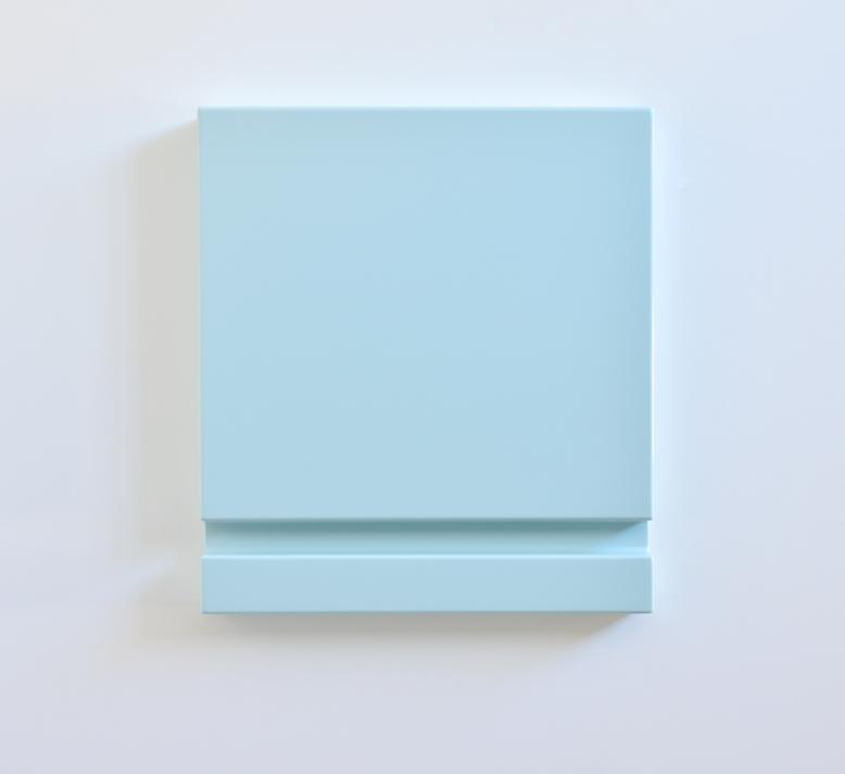 SUZIE IDIENS  Untitled (Blue Slot)  2012 MDF, polyurethane (high gloss) 60 ×54 ×6.5 cm