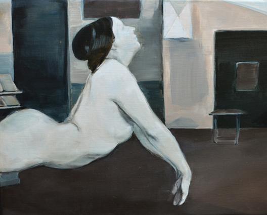 JELENA TELECKI  Utopia 1  2014 oil on linen 41 ×51 cm