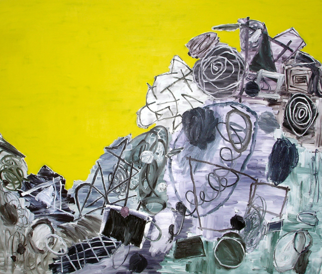 STUART WATTERS  Prima Materia  2012 oil on canvas 183 ×214 cm