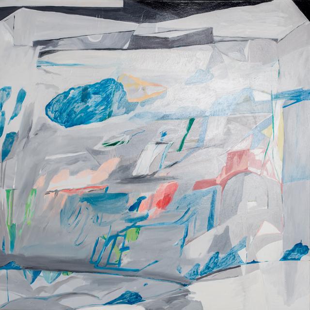 AMBER WALLIS  White Painting  2013 oil on linen 150 ×150 cm