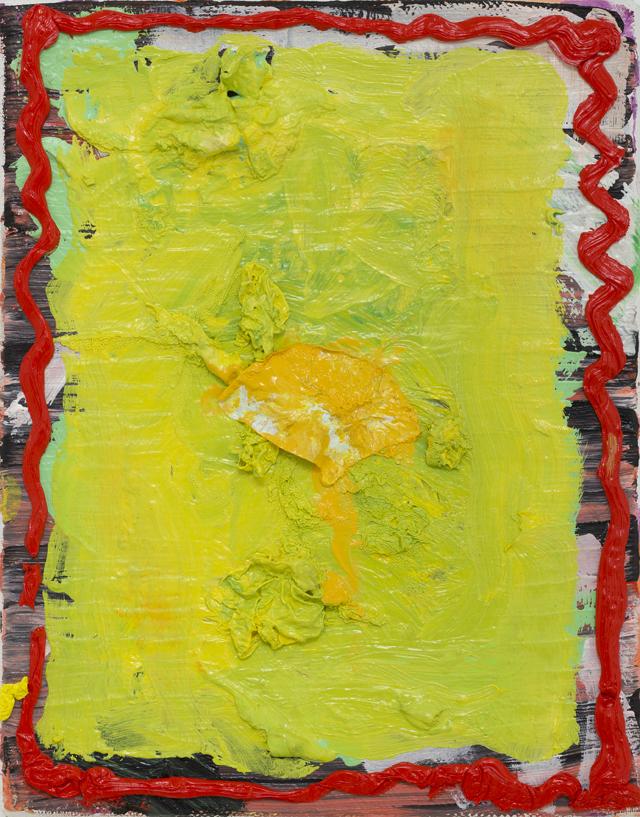 PAUL WILLIAMS  Yoke  2013  oil on linen 25.5 ×20 cm