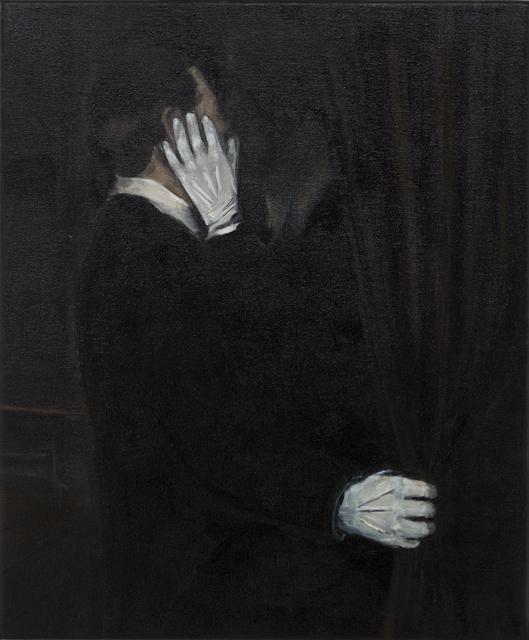 JELENA TELECKI  Brown interior  2013 oil on canvas 61 ×51 cm