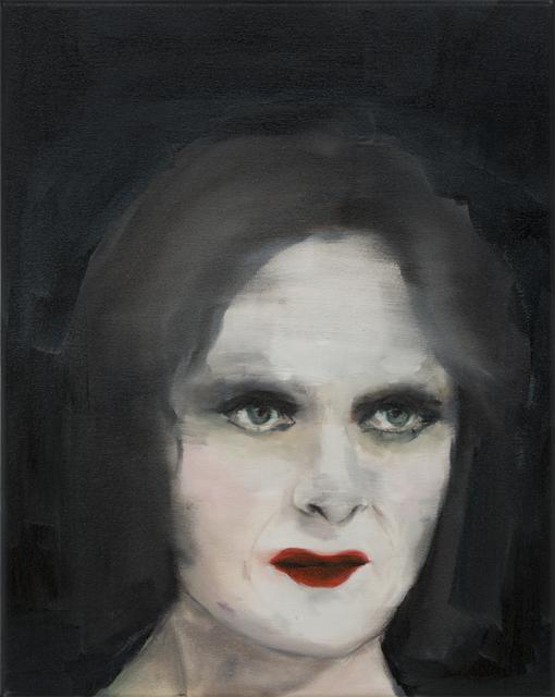 JELENA TELECKI  Diva  2013 oil on canvas 51 ×41 cm