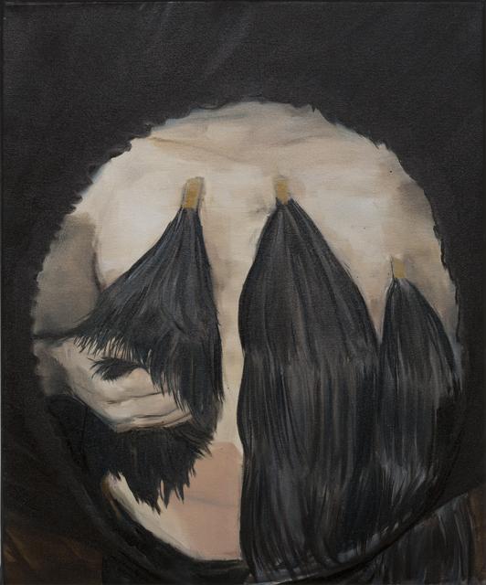 JELENA TELECKI  Improvisation 2  2013 oil on canvas 61 ×51 cm