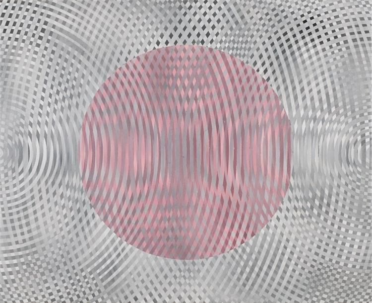 JOHN ASLANIDIS  Sonic Fragment No.31  2006 acrylic on canvas 66.5 ×81.5 cm