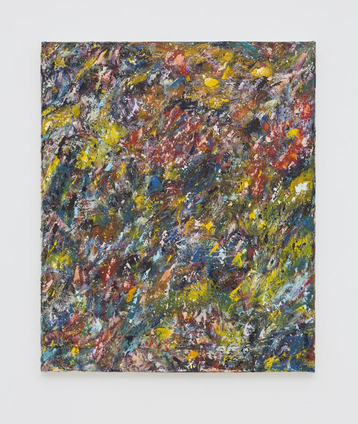 SIMON GARDAM  Drop  2018 oil on canvas 61 × 51 cm
