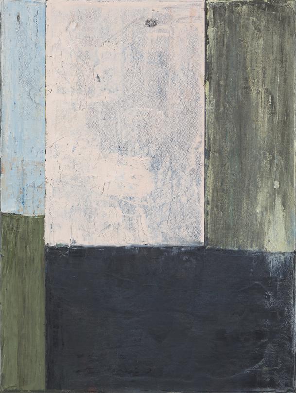 JELLE VAN DEN BERG  Dawn  2015 oil on paper on canvas 40.5 × 30.5 cm