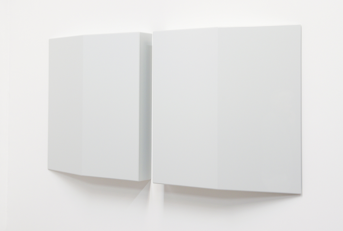 SUZIE IDIENS Untitled #3 2016 MDF, polyurethane 82 × 81.4 × 12 cm
