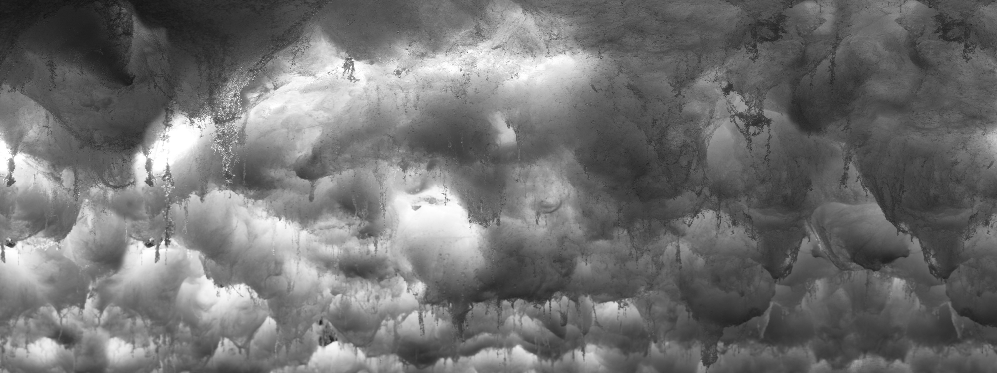 DAVID LAWRY & JAKI MIDDLETON  Downfall #6  2016 c-type metallic print edition of 5 + 1 AP 126 × 48 cm