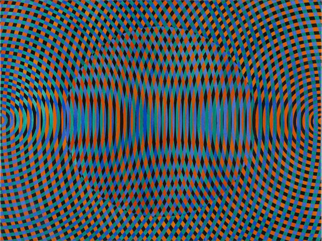 JOHN ASLANIDIS  Sonic no. 44  2015 oil and acrylic on canvas 77 ×102 cm