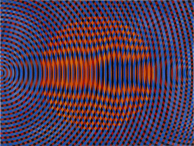 JOHN ASLANIDIS  Sonic no. 45  2015 oil and acrylic on canvas 77 ×102 cm