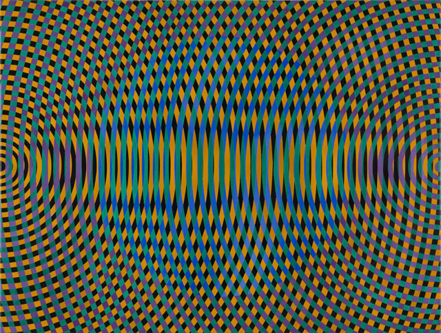 JOHN ASLANIDIS  Sonic no. 48  2015 oil and acrylic on canvas 77 ×102 cm