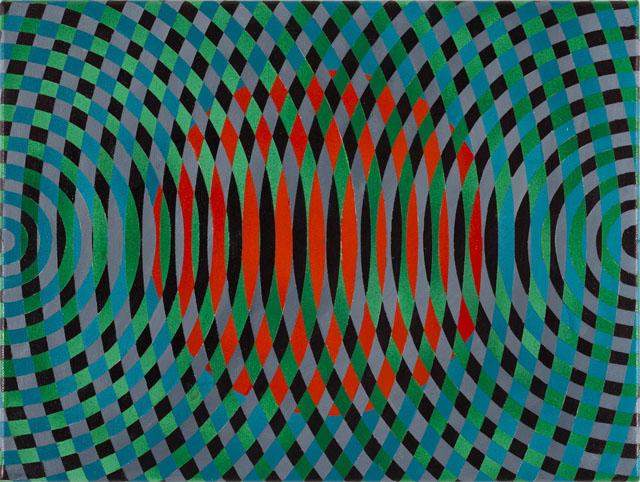 JOHN ASLANIDIS  Sonic sub fragment no. 39  2015 oil and acrylic on canvas 30 ×40 cm