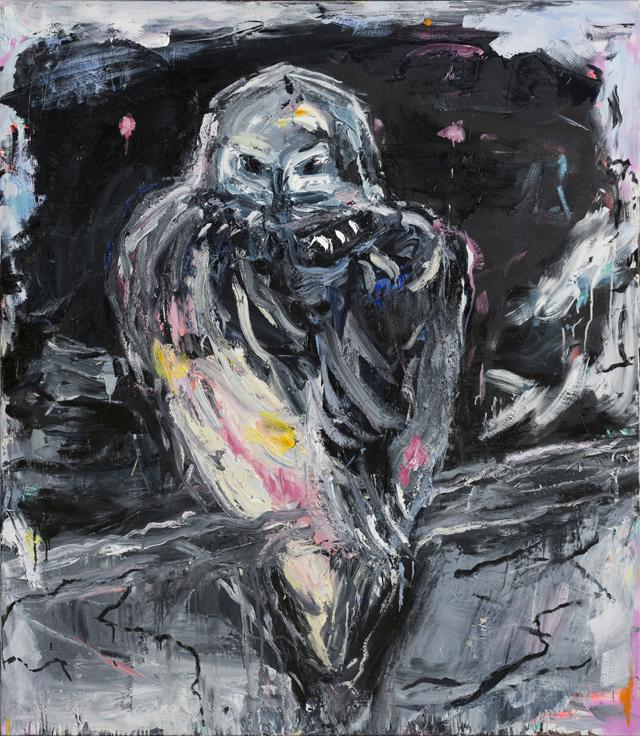 CRAIG WADDELL  Owl of Dusk  2013 oil on linen 160 ×140 cm