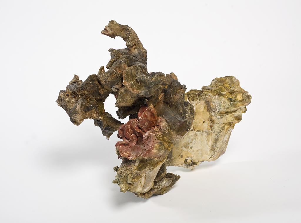 NAOMI ELLER  Nature in situ III 2013 Ceramic, oil paint, shellac and wax 34 ×38 ×14 cm
