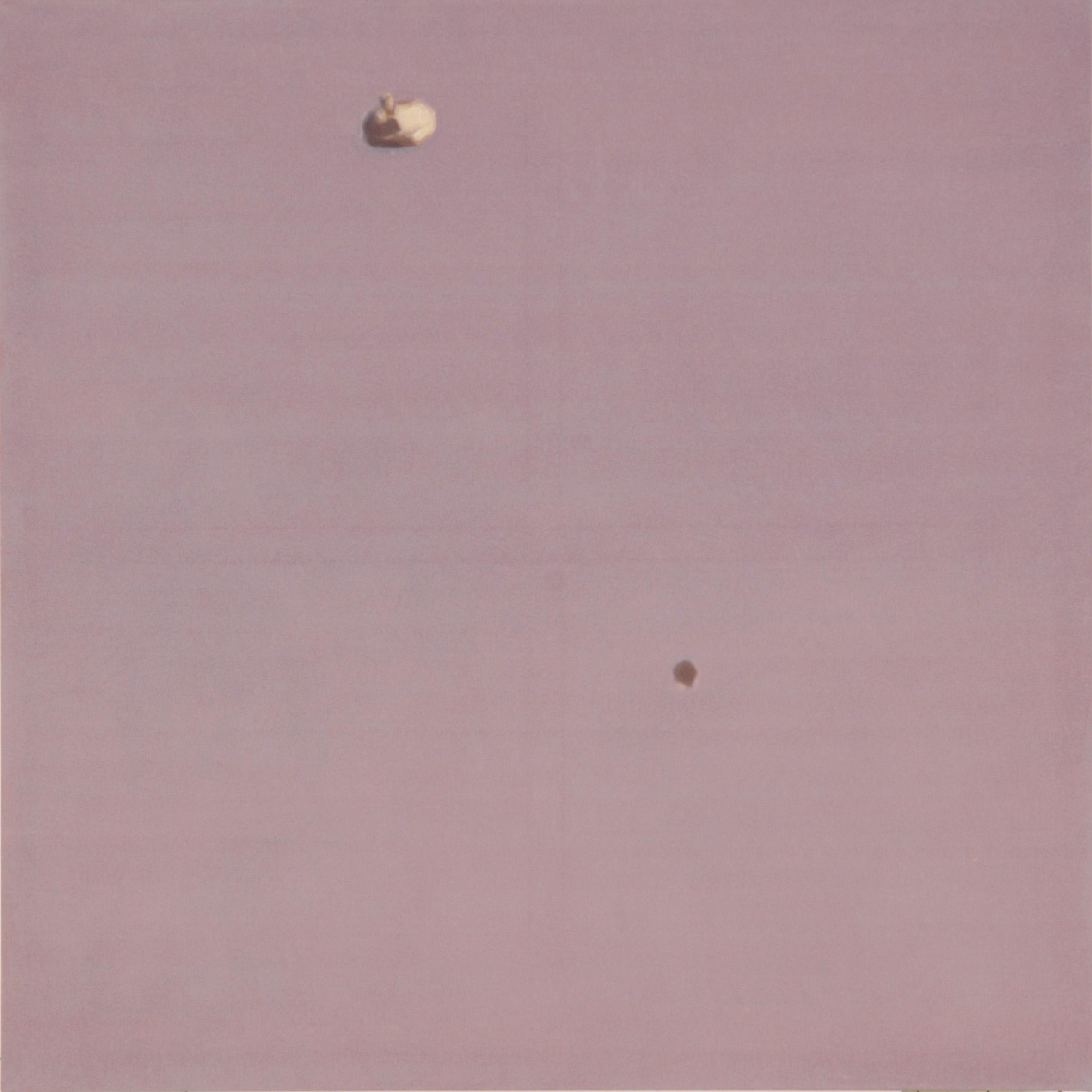ADAM NORTON  UFO 8 2006 acrylic on canvas  122 ×122 cm