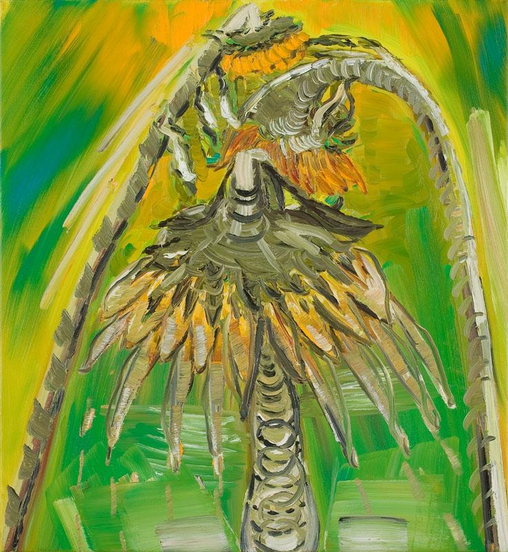 MOYA MCKENNA  Cosmic Mourning 2007 Oil on canvas 76 ×71 cm
