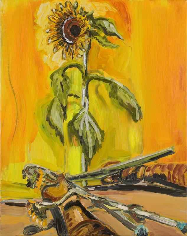 MOYA MCKENNA  Spirited  2007 oil on canvas 76 ×61 cm