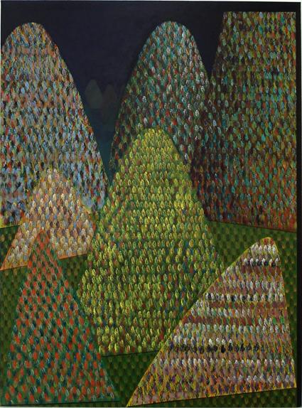 TREVELYAN CLAY  Landscape with a Light 2008 acrylic on canvas 137 ×102cm